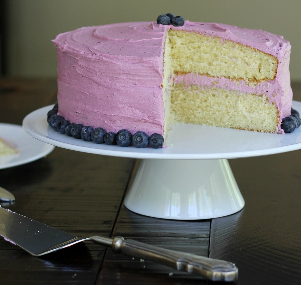 Blueberry Buttercream Frosting -2