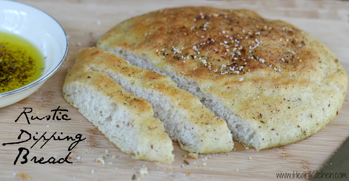 Rustic Dipping Bread