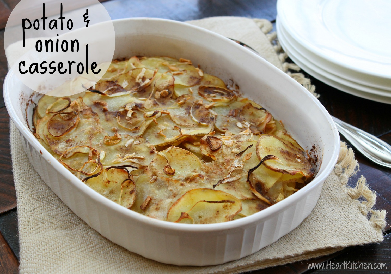 Potato & Onion Casserole