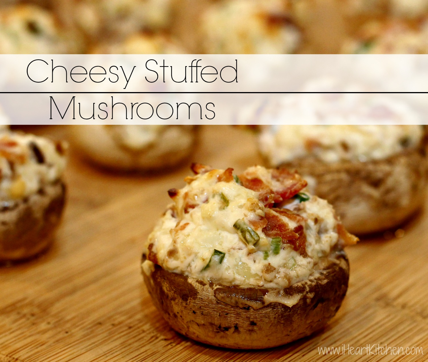 Cheesy Stuffed Mushrooms