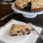 Blueberry Banana Coffee Cake-