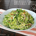 Brussels Sprouts Slaw-