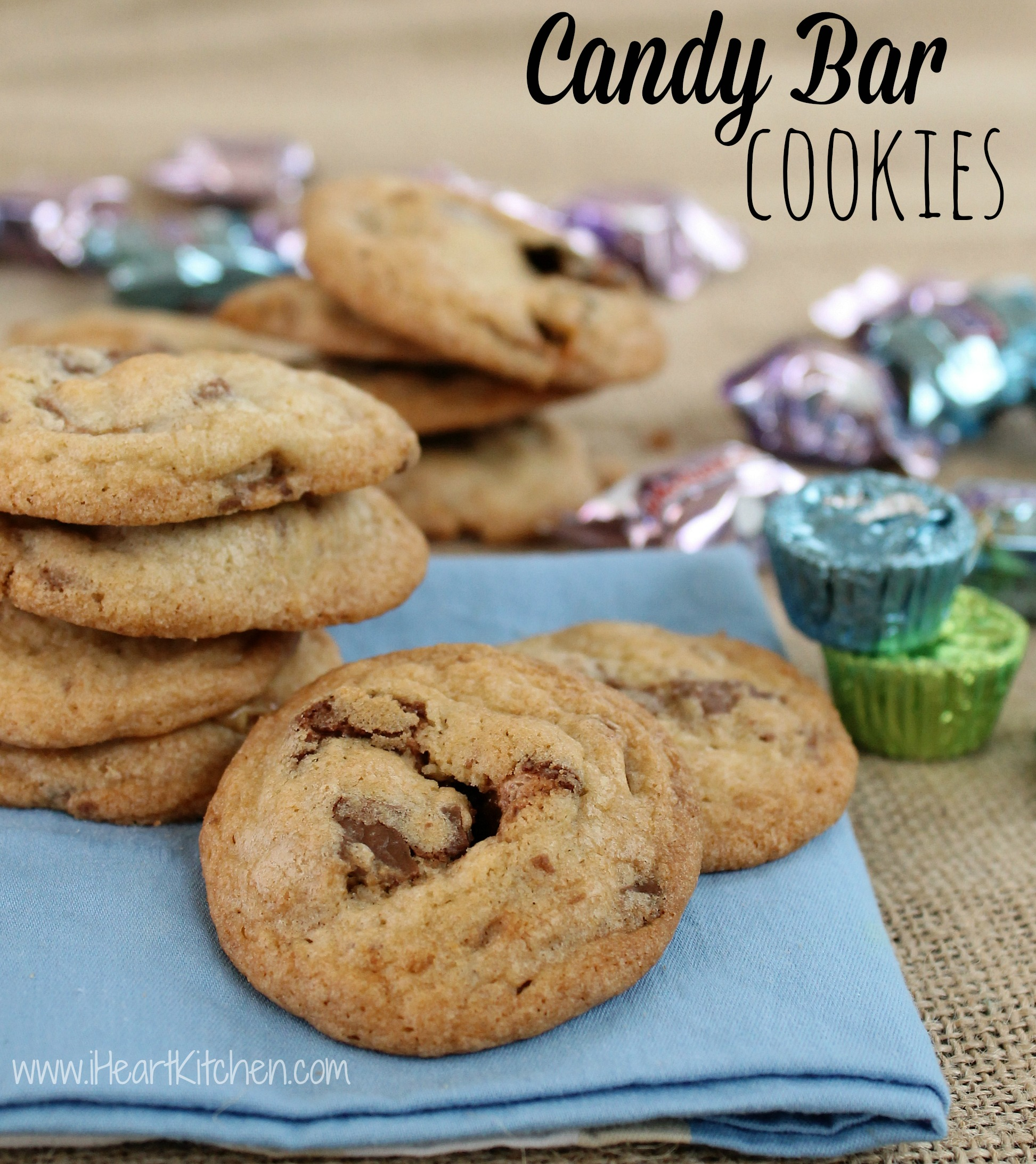 Candy Bar Cookies-
