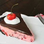 Chocolate Covered Cherry Dream Pie