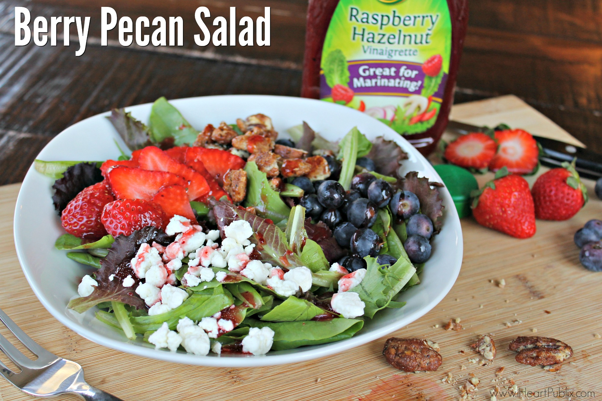 Berry Pecan Salad - Easy & Delicious Salad For Anytime!