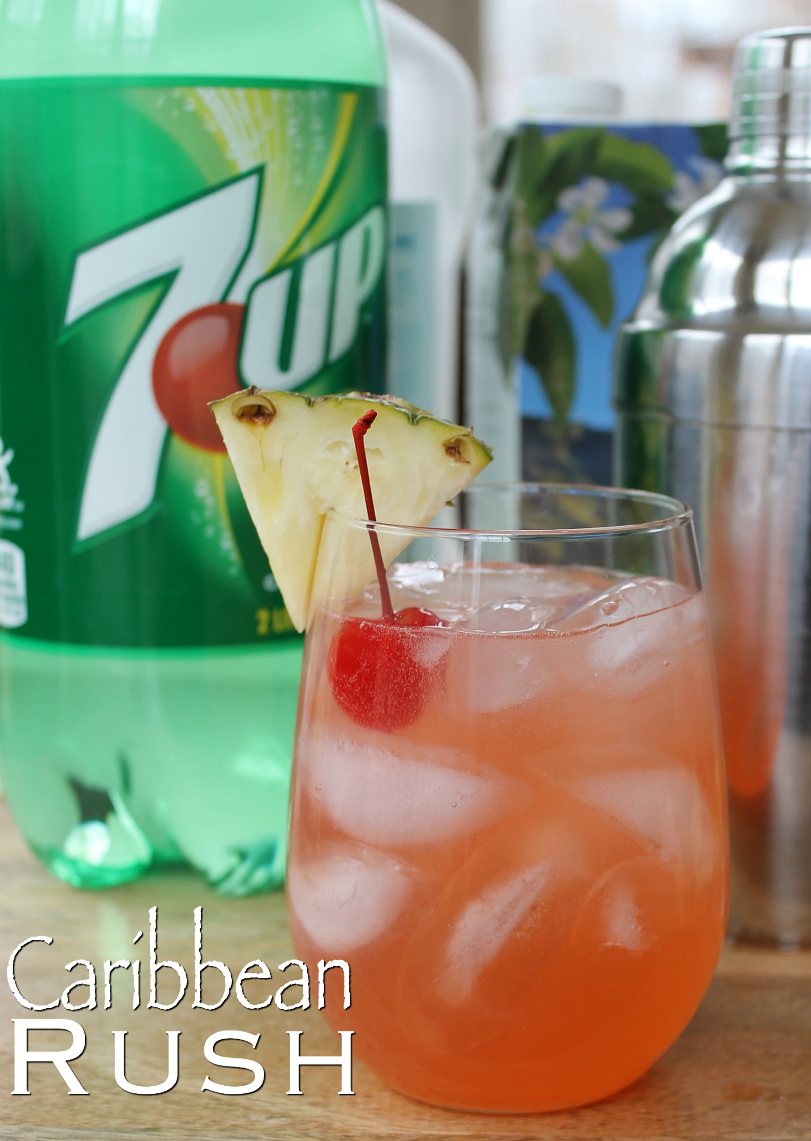 Caribbean Rush Cocktail