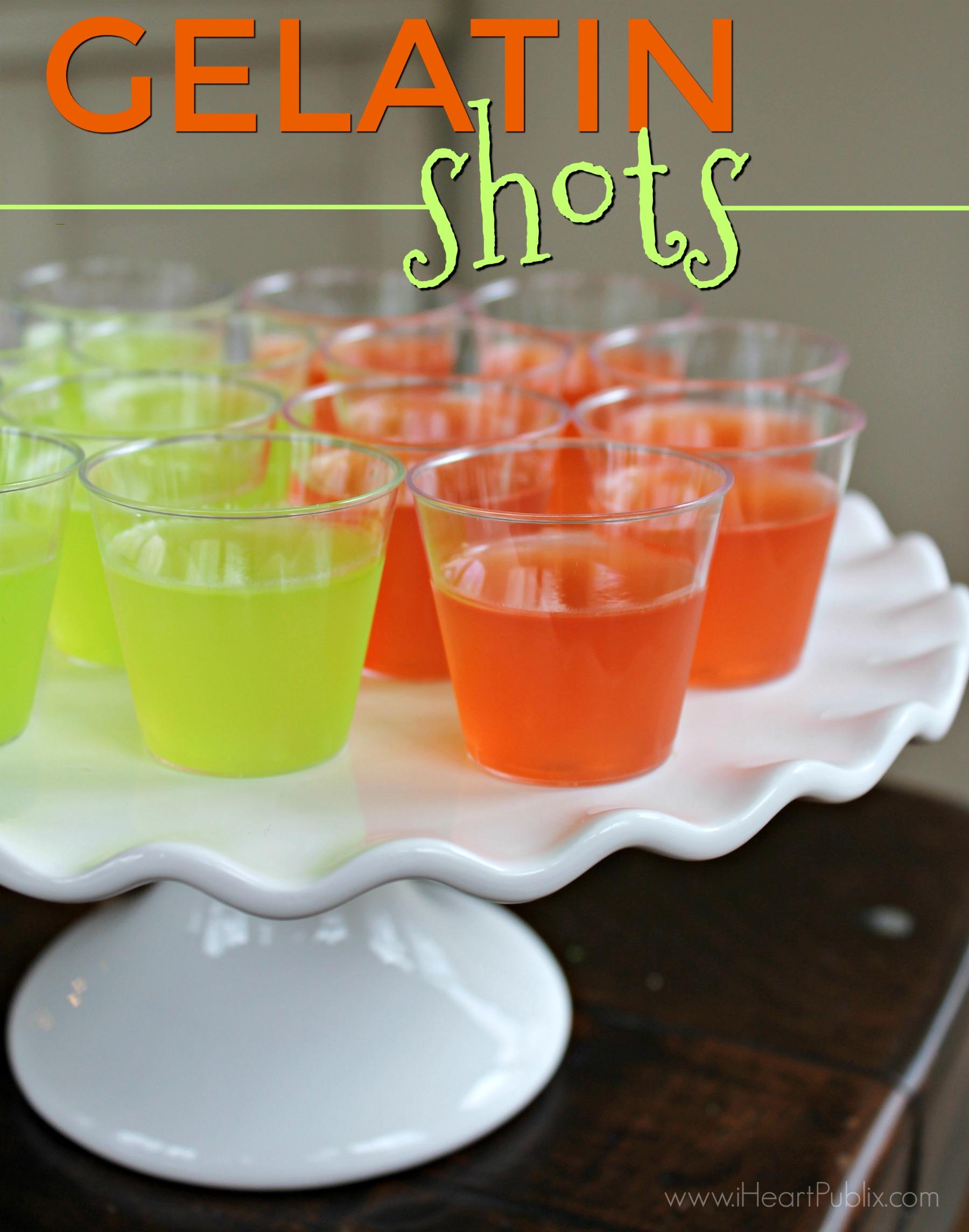 Gelatin Shots Recipe